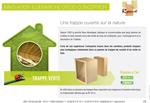 1ere trappe de comble Verte en materiaux bois !!