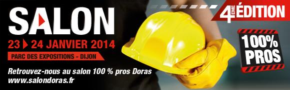 """Janvier 2014 » Participation au Salon """"Doras"""" les 23 et 24 Janvier 2014 au Parc des Expositions de Dijon"""